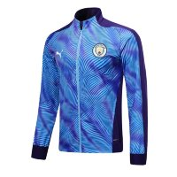 Олимпийка MANCHESTER CITY 19/20 stadium jacket home голубая