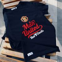 Футболка MANCHESTER UNITED red devils черная